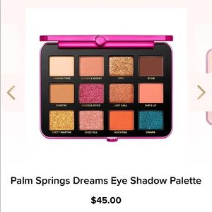 Too faced Palm Springs palette new
